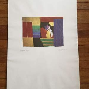 Lot # 3 - Max Hayslette -Abstract Serigraph SIGNED ARTIST'S PROOF - (unframed)