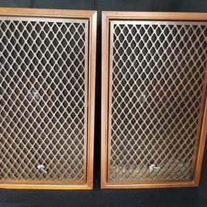 Lot # 12 - Vtg Sansui SP-70 Speakers