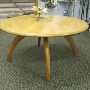 Lot # 39 - Mid-Century Modern Heyward-Wakefield Spider-legged Lazy Susan Coffee Table