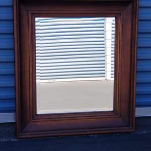 Lot # 48 - Large Beveled Mirror - Howard Elliot Collection