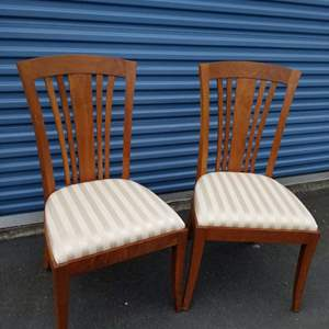 Lot #75 Two Stickley Side Chairs