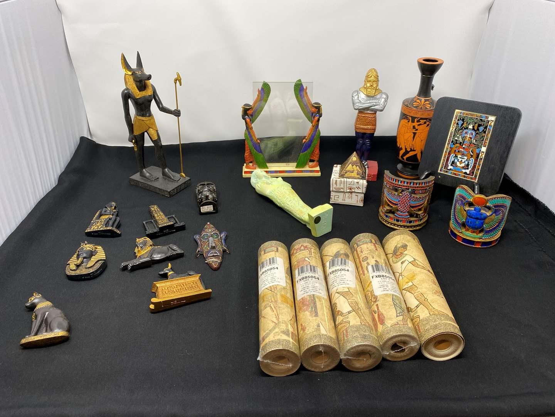 Lot # 23 - Nice Collection of Egyptian Decor (main image)