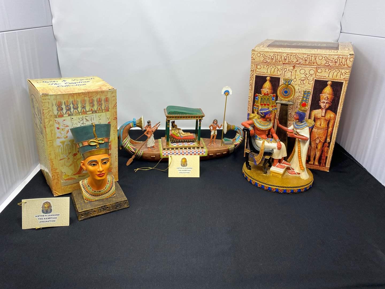 Lot # 25 - Nice Collection of Egyptian Decor (main image)
