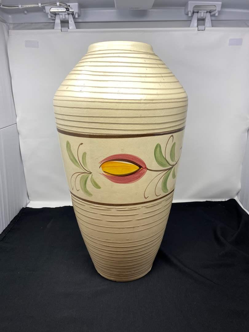 """Lot # 31 - 20"""" Tall Vintage Vase  (main image)"""