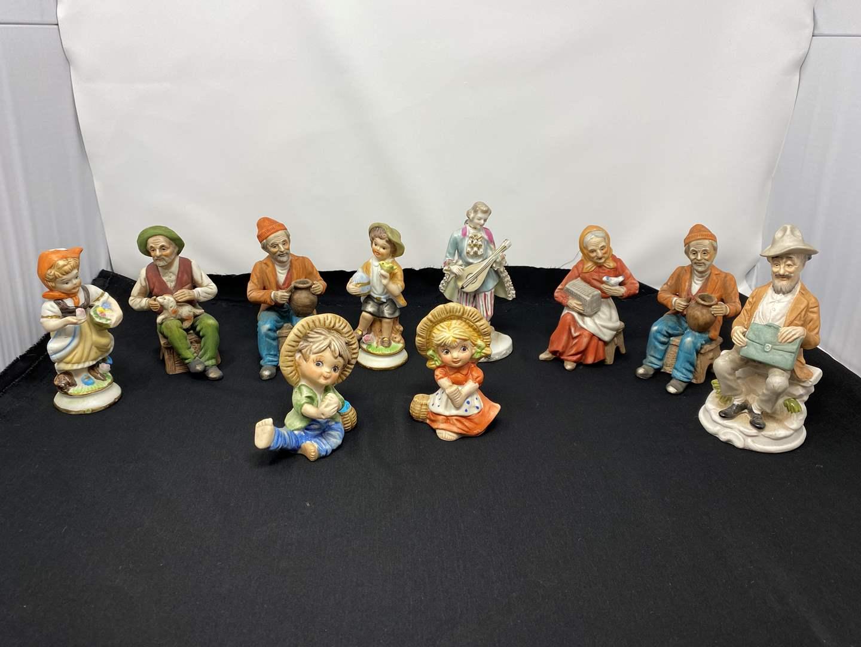 Lot # 35 - Vintage Figurines (main image)