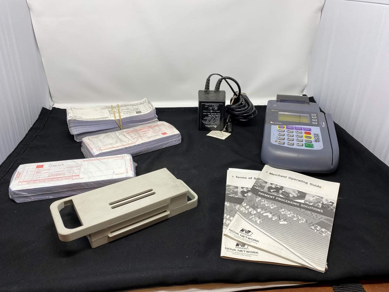 Lot # 48 - Nova Credit Card Processing Machine  (main image)