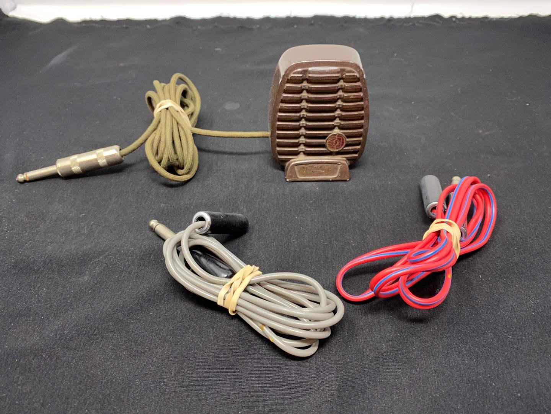 Lot # 52 - Vintage Crystal Microphone Model - CX80 (main image)