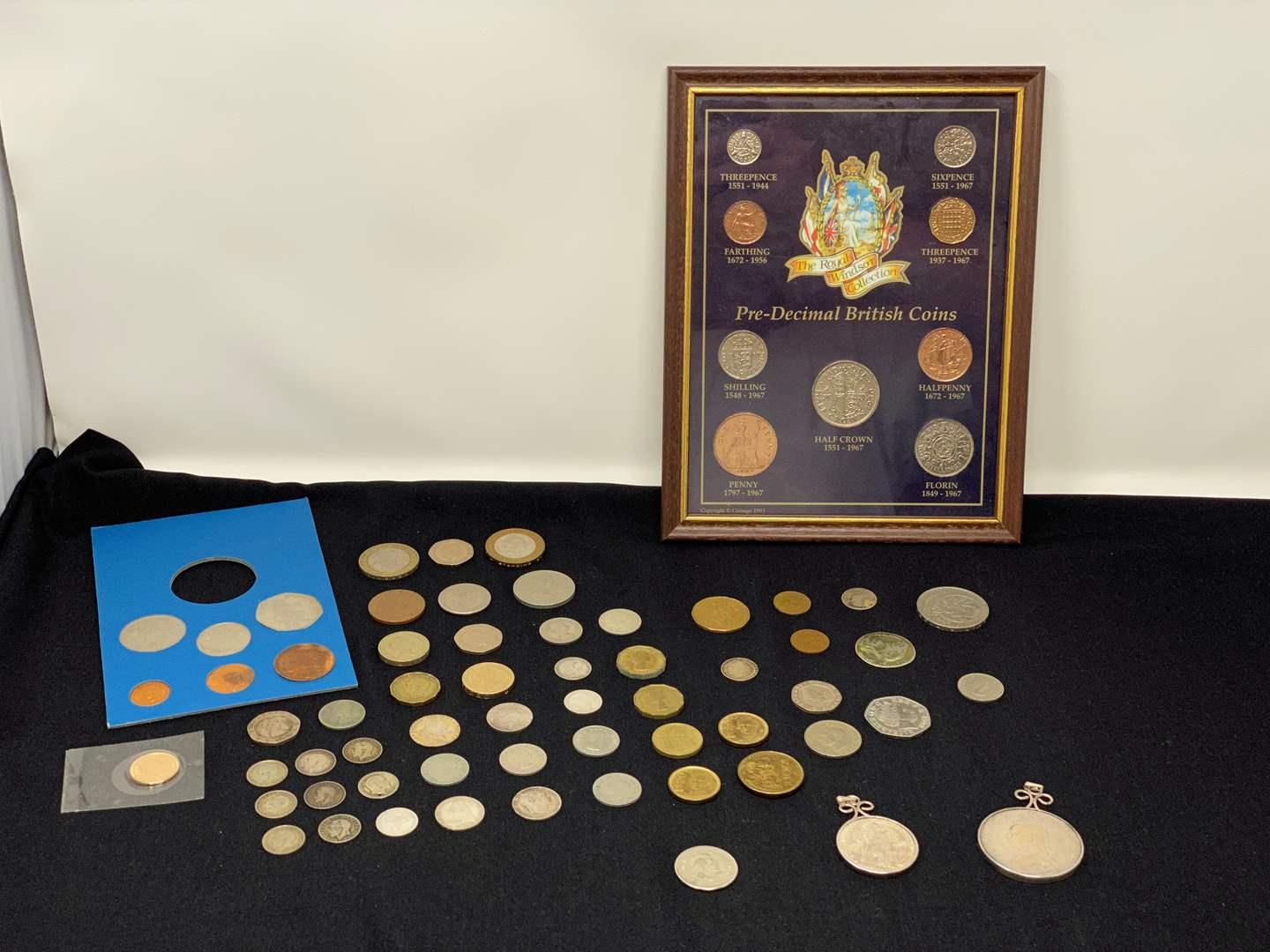 Lot # 84 - Collection of Old Foreign Coins - (See Pictures). (main image)