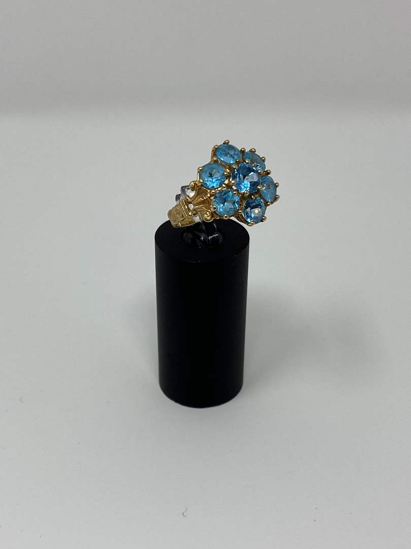 Lot # 97 - 10k Gold Ring - (Stamped & Tested - 4.16 Grams). (main image)