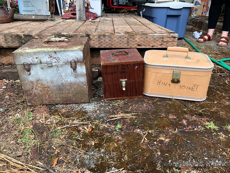 Lot # 258 - Vintage Boxes (main image)