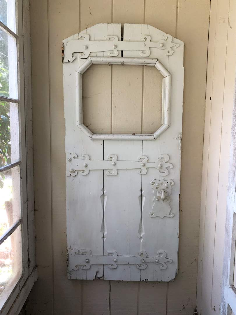 Lot # 263 - Antique Viking Door - (Owner believes it to be from the 16th or 17th Century). (main image)