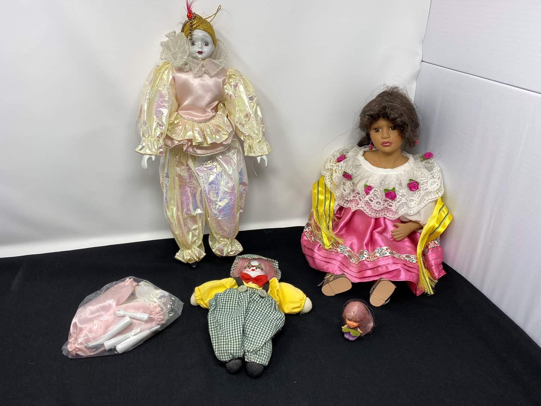 Lot # 44 - Porcelain Dolls (main image)