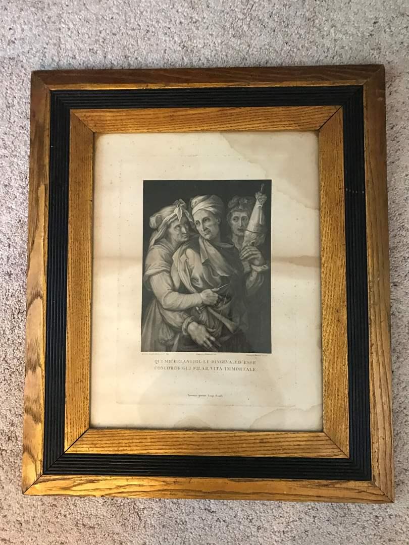 Lot # 86 - Antique Lithograph (main image)