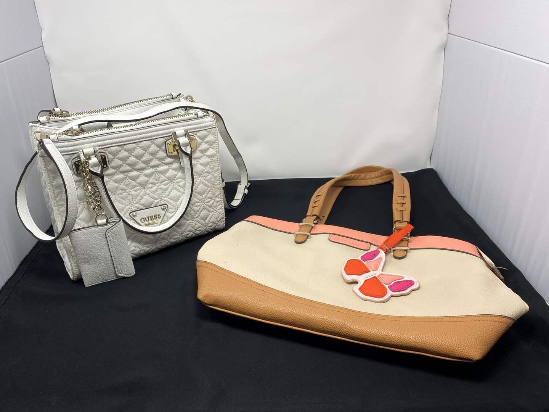 "Lot # 97 - Nice Like New ""Guess"" Handbag w/ a ""Rosetti"" Handbag (main image)"