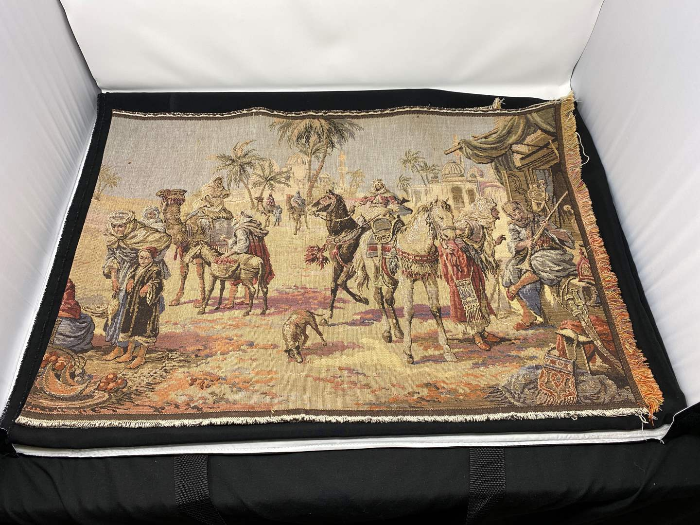 Lot # 102 - Very Old Antique Tapestry  (main image)