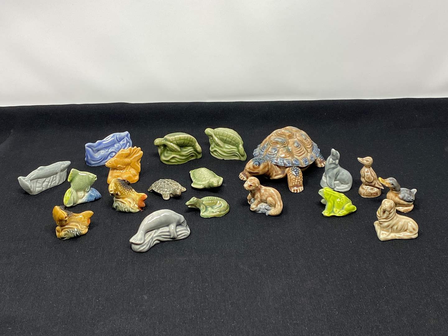 """Lot # 116 - Collection of """"Wade"""" Water Life Whimsies  (main image)"""