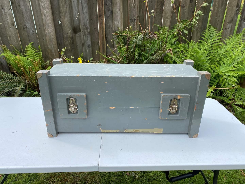 Lot # 245 - Vintage Wood Storage Crates (main image)