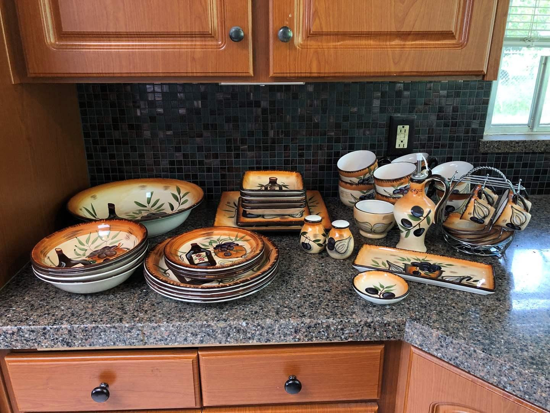 Lot # 50 - Muckleshoot Casino Set of Plates, Bowls, Mugs & More..  (main image)