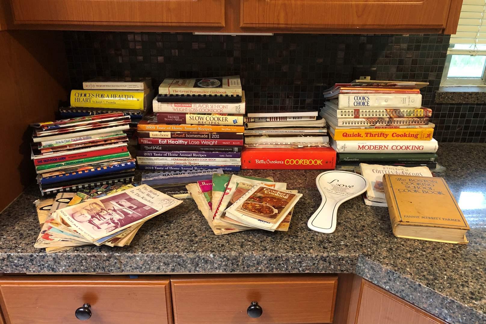Lot # 58 - Some New & Some Vintage Cookbooks  (main image)