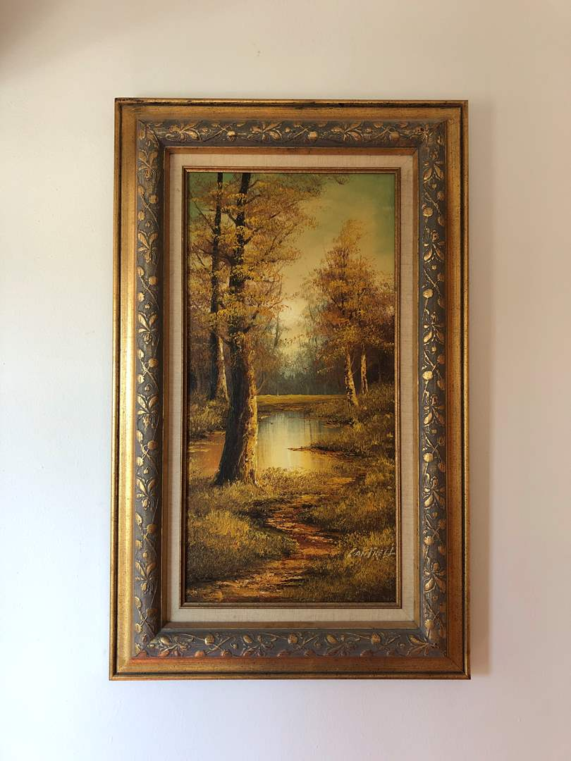 Lot # 146 - Beautiful Original Oil on Canvas Painting Signed by Cantrell  (main image)