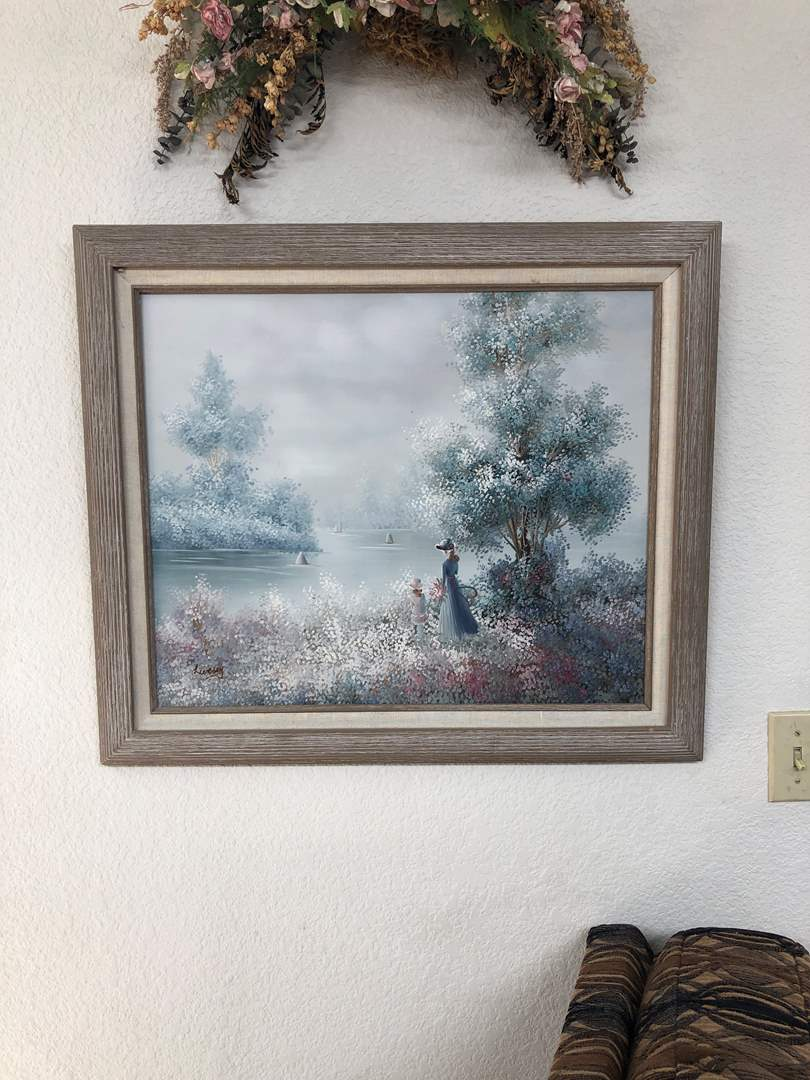 Lot # 147 - Original Oil on Canvas by Livesey (main image)