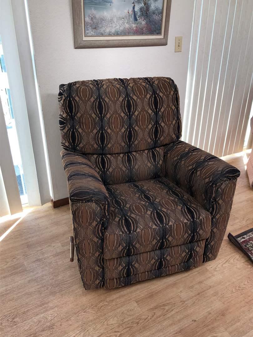 Lot # 148 - Lazy Boy Swivel/Rocking Reclining Chair  (main image)