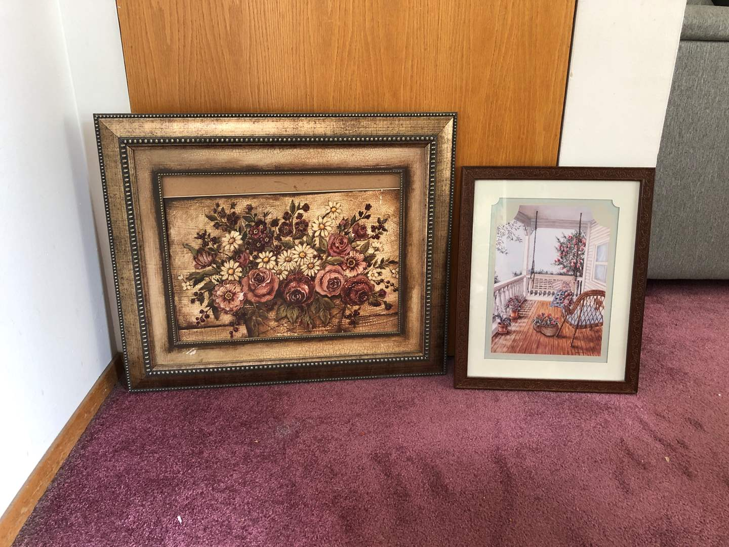 Lot # 73 - Two Pieces of Artwork  (main image)