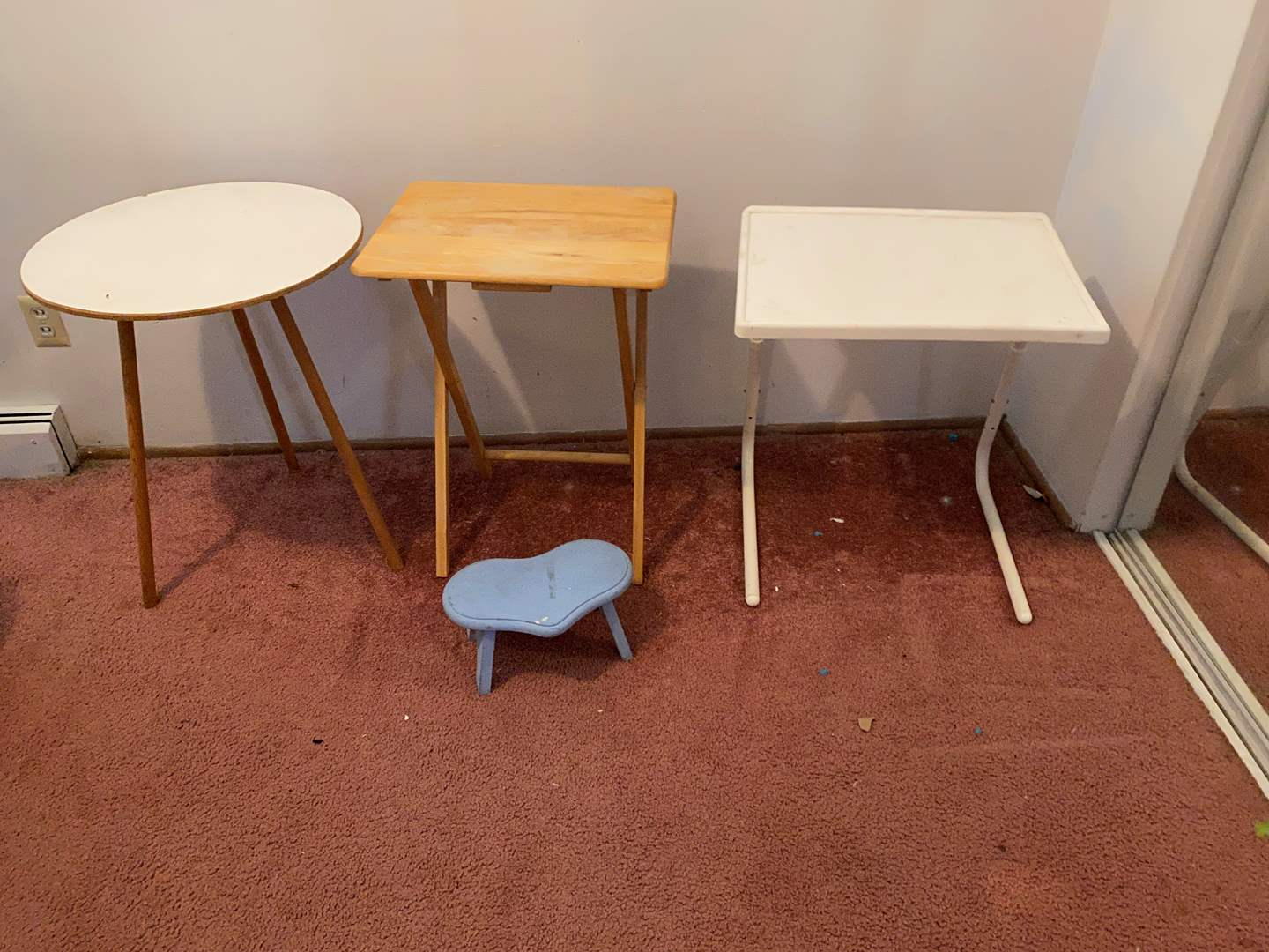 Lot # 45 - Side Tables, TV Trays & More..  (main image)