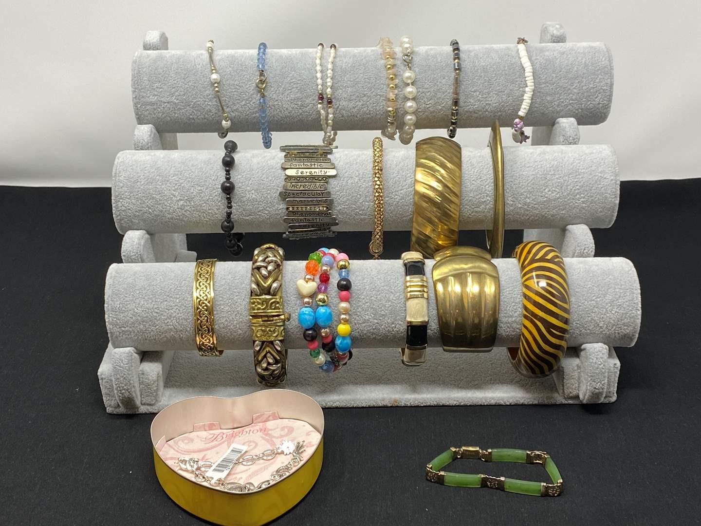 Lot # 183 - Selection of Bracelets  (main image)