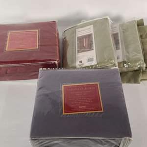 Lot#138 Sheets & Curtains