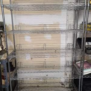 Lot#210 Stainless Steel Rack