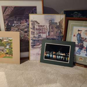 Lot#232 Art Collection, Some Signed & Numbered