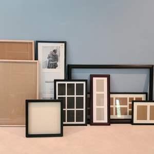 Lot#8 Lot Of Empty Frames