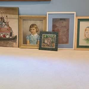 Lot#10 Assorted Art