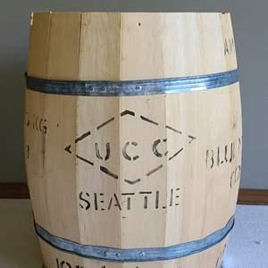 Lot#16 Blue Mountain Coffee Barrell