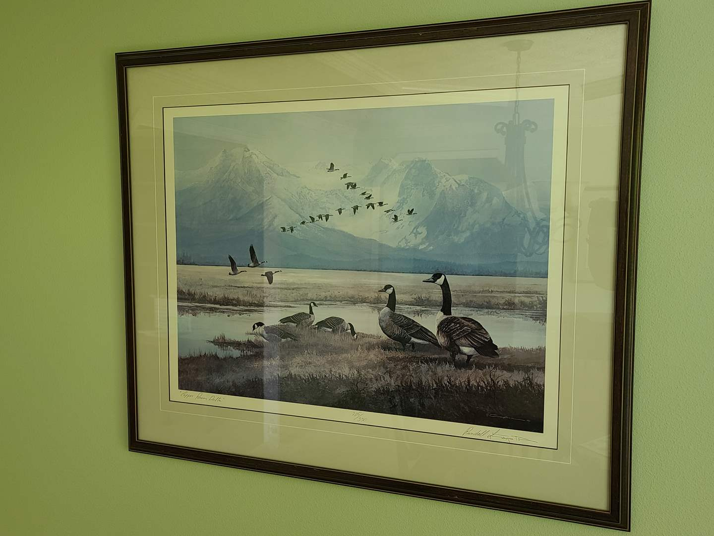 Lot#30 Signed & Numbered Copper River Delta Print (main image)