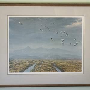 Lot#31 Signed & Numbered Robert Bateman Print
