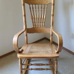 Lot#65 Vintage Rocking Chair