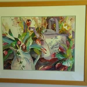 Lot#68 Signed & Framed Art By Whitlock