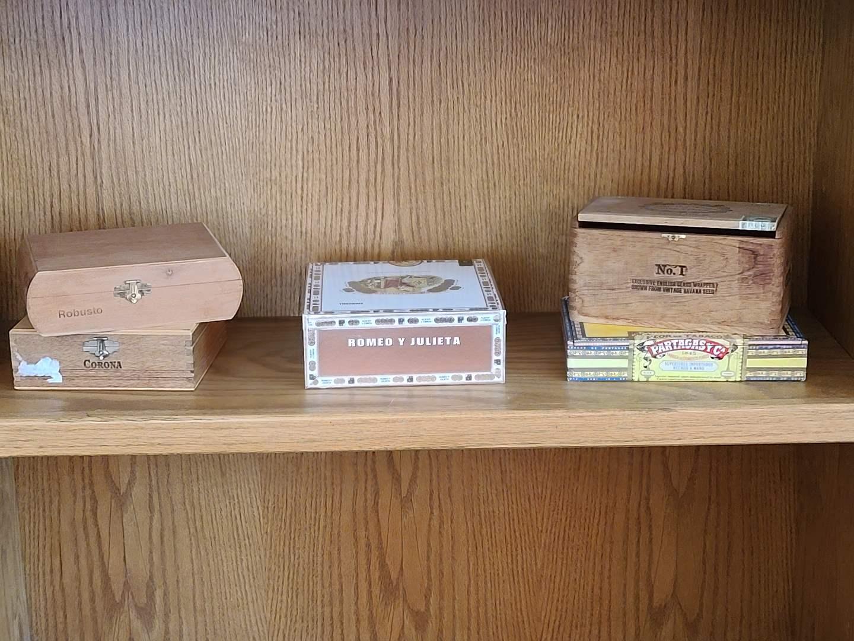 Lot#34 Cigar Box Collection (main image)