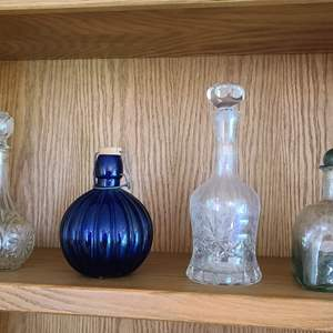 Lot#37 Nice Decanter Collection