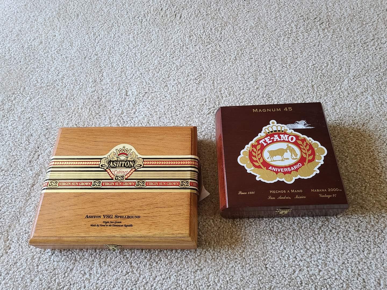 Lot#72 Cigar Boxes (main image)