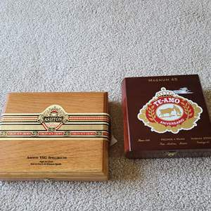 Lot#72 Cigar Boxes