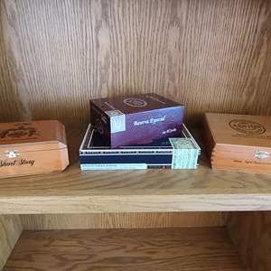 Lot#40 Nice Cigar Boxes