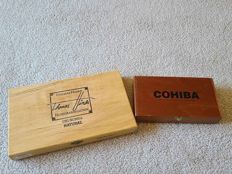 Lot#75 Pair Of Cigar Boxes (main image)