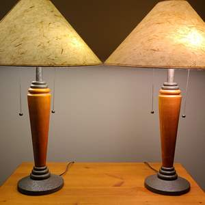 Lot#46 Pair Of Table Lamps