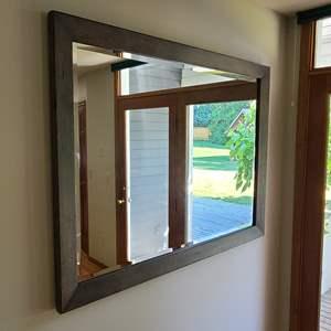 Lot#48 Wood Framed Mirror
