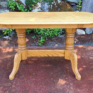 Lot#86 Solid Wood Console/Buffet Table