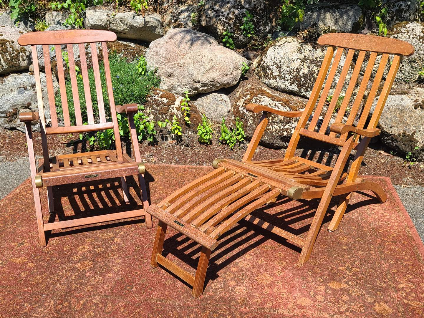 Lot#89 Queen Mary Deck Chairs (main image)