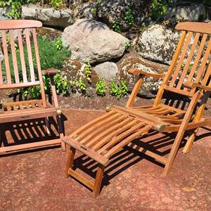 Lot#89 Queen Mary Deck Chairs
